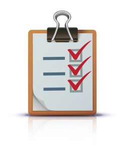 animated checklist